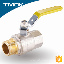 "1/2"" inch sand blasting natural gas brass ball valve"